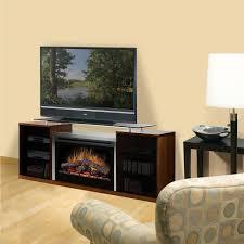 dimplex marana 75 inch electric fireplace media console cherry
