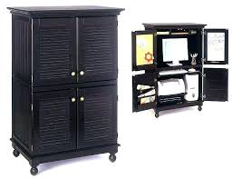 Computer Armoire For Sale Armoire Computer Armoire For Sale With Distressed Black Finish