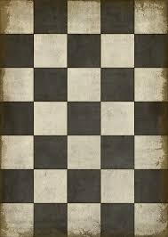 spicher and company 12282 pattern vii black white checker