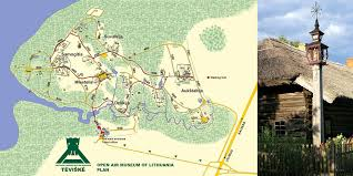 Map Of Lithuania You Can Reach Us U2014 Open Air Museum Of Lithuania