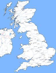 Brighton England Map by Map Great Britain Deboomfotografie