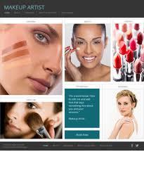 Makeup Artists Websites Free Website Templates Page 20