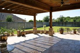 Travertine Patio Heritage Grand Cinco Ranch Outdoor Living Room Texas Custom Patios