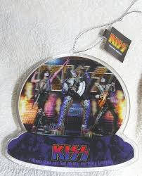 rock band lenticular ornament home