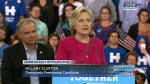 Hillary Clinton Hometown by Hillary Clinton Tim Kaine Hold Labor Day Rally Sep 5 2016 C