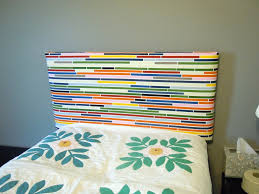 How To Make Your Own Fabric Headboard by Make Your Own Twin Headboard 15162