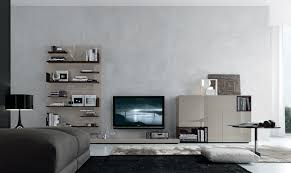 Bay Area Modern Furniture by Front View Of Open Wall System From The Jesse Sf Day Collection