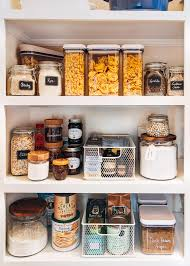 how to organise food cupboard how to organize a pantry and enjoy doing it striped spatula