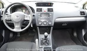 Subaru Xv Crosstrek Interior A Review Of The 2013 Subaru Xv Crosstrek Even With Compacts
