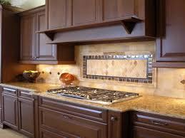 Diy Kitchen Backsplash Ideas by Kitchen Backsplash With Dark Cabinets Voluptuo Us