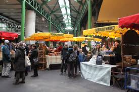 borough market inside food market