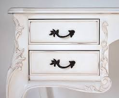 white french desk with drawers by out there interiors