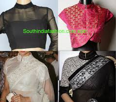net blouse pattern 2015 stand collar neck saree blouse designs 2015 saree blouses