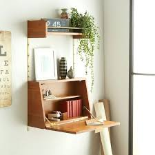 Convertible Desk Desk Wall Mounted Space Saving Fold Out Writing Desk This Would