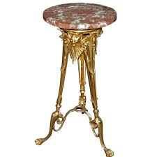 antique marble top pedestal table 18 best antique pedestals images on pinterest antique bedroom