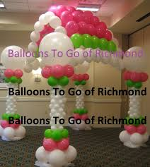 balloon delivery charlottesville va hire balloons to go balloon decor and more party decor in