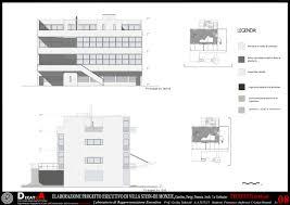 Villa Tugendhat Floor Plan by Elaboration Project Villa Stein De Monzie Le Corbusier Picture