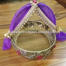 wedding baskets designer wedding basket decorative basket for wedding buy