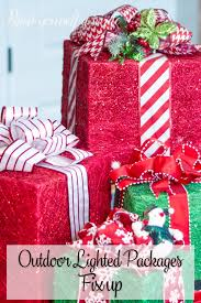 Outdoor Christmas Decorations Lighted Packages by Christmas Archives Paint Yourself A Smile