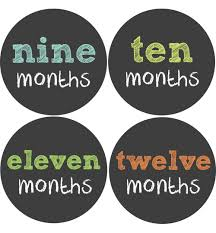 chalkboard letters baby month stickers baby belly stickers
