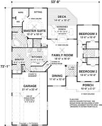 house plans one the blue ridge 8435 3 bedrooms and 2 5 baths the house designers