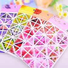 aliexpress com buy 192pcs lot colorful days corner sticker