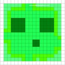 minecraft pixel art templates apple logo perler bead cross