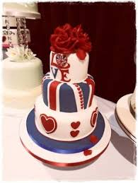 union jack cake this is the coolest cake ever tasty food