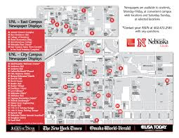 University Of Utah Campus Map by Newspaper Readership Program Asun Student Government