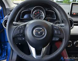 mazda steering wheel 2016 mazda cx 3 grand touring fwd review u0026 test drive