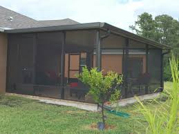 Shed Roof Screened Porch Patio Screen Enclosures Porches And Lanais