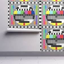 test pattern media tv television test cards patterns rainbow on isobar by raveneve