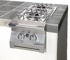 Kitchen Island Or Cart by Double Side Burner For Built In Grill Island Or Cart Mount