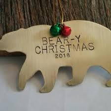 personalized christmas ornament fishing ornament new baby ornament