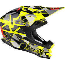 ebay motocross helmets lazer or1 aras freestyle yellow black red motocross helmet quad