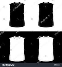 silkscreen series black white realistic blank stock vector