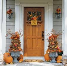 Outdoor Fall Decorations by Country Office Decor Fall Porch Decorating Ideas Outdoor Garden