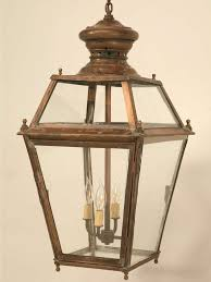 Antique Brass Pendant Light by Incredible Antique French Copper Hanging Pendant Lantern Just