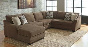 Teak Laminate Flooring Justyna Teak Left Chaise Sectional Sectionals Living Room