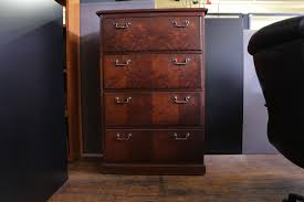 Wood File Cabinet Wood Filing Cabinets 4 Drawer With Shop File At Lowes Com And