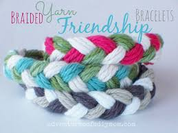 braided friendship bracelet images How to make braided yarn friendship bracelets adventures of a jpg