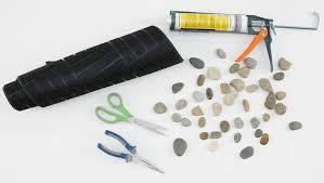fußmatte aus steinen selber machen mömax blog