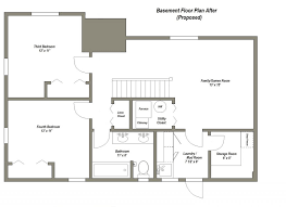 ranch style floor plans with basement awesome design ranch style house plans with basements 4 bedroom