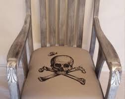 Wooden Skull Chair Skull Furniture Etsy