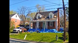 Cape Cod House by Roof Replacement On A Cape Cod House 20901 Youtube