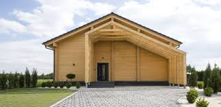 the project of a house assembled in poland wooden house