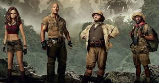jumanji movie description jumanji 2 character posters welcome 4 new players to the jungle