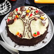 Halloween Poke Cake by Autumn Tree Cake Recipe Taste Of Home