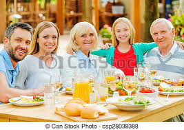 pictures of family gathering happy family of five bonding