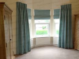 Hillarys Blinds Chesterfield Hand Sewn Triple Pleat Dress Curtains With Roman Blinds In James
